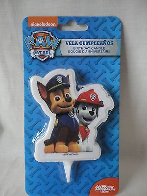 Paw Patrol Birthday Candle/topper