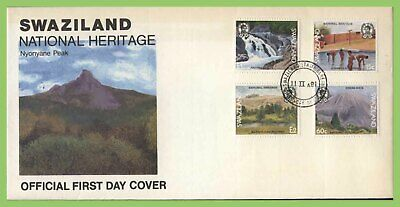 Swaziland 1991 National Heritage set on First Day Cover