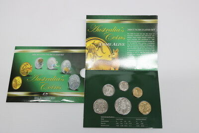 2004 Six Coin Uncirculated Set Australia´s Coins
