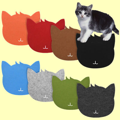 Anti-Slip Game Mouse Pad Mat Cat Shape Mousepad for Laptop Notebook PC