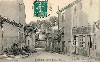 FRANCE 1  carte   postale  de  Chef-Boutonne