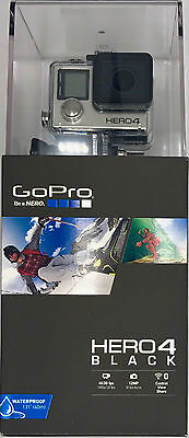 GoPro HERO4 Black Edition Camcorder - Silver FAST UK DELIVERY