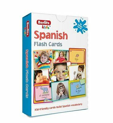 Berlitz Language: Spanish Flash Cards (Berlitz Flashcards), Berlitz, New Book
