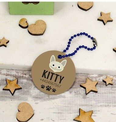 Personalised Pet Tag - Cats PPT-205