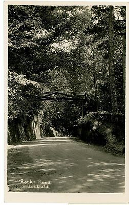 ROCK ROAD,UCKFIELD,SUSSEX-REAL PHOTO-POSTCARD,UNPOSTED.-k-s