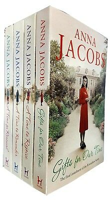 Anna Jacobs Collection 3 Books Set A Time To Rejoice, A Time for Renewal NEW