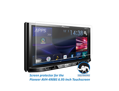 Clear Screen Protectors for Pioneer AVH-X490BS (2pcs) - Tuff Protect