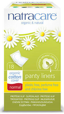 Slipeinlage Panty liners Normal - natracare - 18 Stück