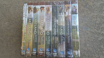 Heartland Seasons 1 2 3 4 5 6 7 8 9 The Complete Series DVD NEW FREE SHIPPING