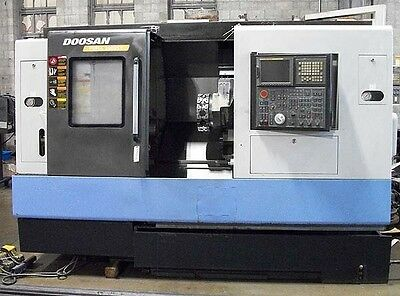 Doosan Daewoo Puma 2000SY CNC Turning Center Lathe with Live Tools & Sub Spindle