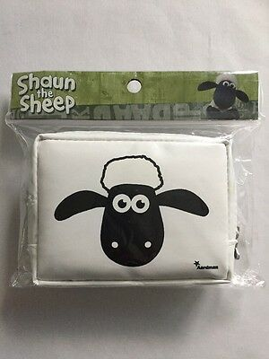 Shaun The Sheep Polyvinyl Coin Purse Aardman Animation Ltd New In Package