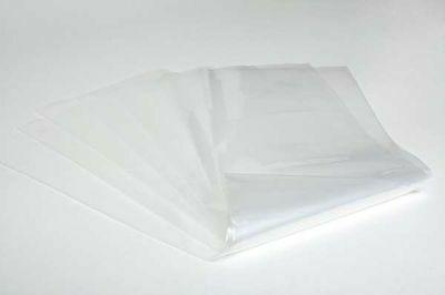 """20 x Strong Heavy Duty Clear Plastic Rubble Bags - 16"""" x 32"""" – 400 guage"""