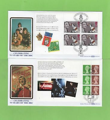 G.B. 1997 Two BBC booklet pane Benham First Day Covers