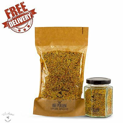 Bee Pollen Dried 100% Pure Raw Unprocessed From Hungary 100G