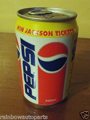 1993 Michael Jackson Dangerous Tour Unopened Pepsi Can- United Arab Emirates.