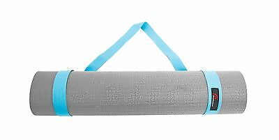 "ProSource Yoga Mat Cotton Sling Carry Strap 96.5 cm (38"") Aqua 60-Inch"