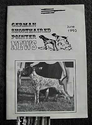 "German Shorthaired Pointer - "" News "" Magazine - June 1993 - Slightly Used"