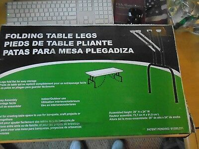 Waddell Manufacturing Folding Banquet Table Legs FTL100