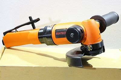 "New Suntech 1.6 HP Heavy Industrial Pneumatic Air 4-1/2"" Angle Grinder 5/8""-11"
