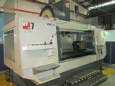 Haas VF-7/50 CNC Vertical Machining Center with Full 4th Axis Rotary Table