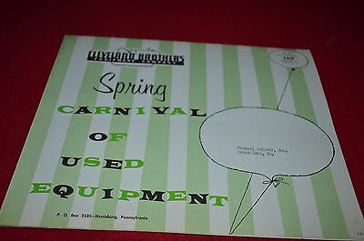 Caterpillar Cleveland Brothers Used Equipment March 1963 Dealer's Brochure BWPA