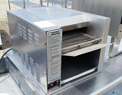 APW AT-10 Commercial Conveyor Toaster Oven STAINLESS CLEAN TESTED GUARANTEED