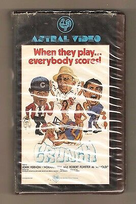 """""""CRUNCH"""" 1981 (Astral Video) aka KINKY COACHES AND THE POM-POM CHEERLEADERS! vhs"""