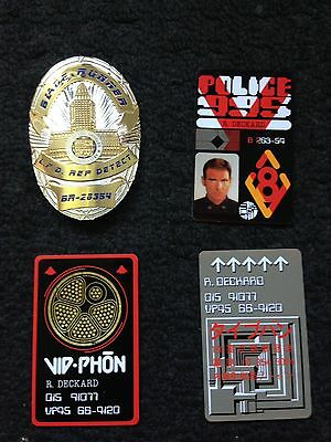 Blade Runner  Badge and card Prop Collectable