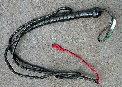 Plaited Leather Whip - New