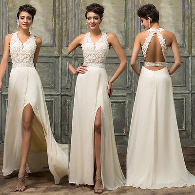 Women Bridesmaid Ball Prom Gown Dresses Formal Evening Party☇Cocktail Long Dress
