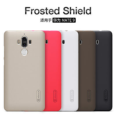 For HUAWEI Mate 9 NILLKIN Super Frosted Shield Matte Plastic Back Covers Cases
