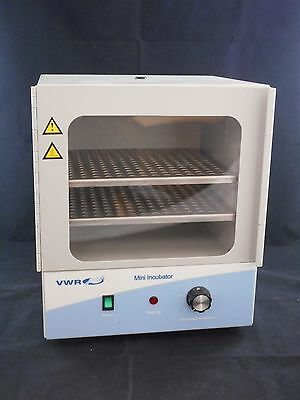 NEW VWR Personal-Sized Analog 230V 50/60Hz 0.3A Mini Incubator 97025-632