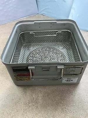 Surgical Tool Half Sterilization Container with Basket