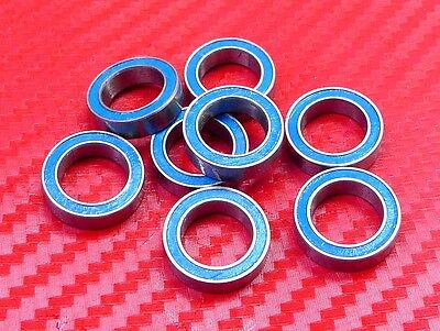 12x18x4 mm ABEC-3 Rubber Sealed Ball Bearing RED 25 PCS 6701-2RS 6701RS