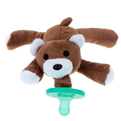 Pacifiers Animal Infant Silicone New With Cuddly Plush Baby Nipple