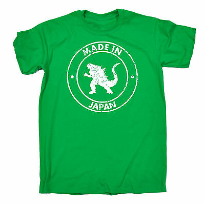 Made In Japan MENS T-SHIRT tee birthday japanese asian oriental far east funny