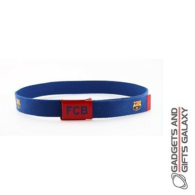 OFFICIAL BARCELONA FOOTBALL CLUB JUNIOR BELT CREST 30INCH Kids clothing acc