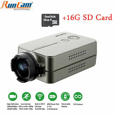 RunCam 2 Full HD 1080P FPV Camera WiFi link Camcorder For Racing Drone