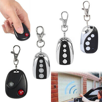 Replacement Garage Door Car Gate Cloning Remote Control Key Fob 433MHZ