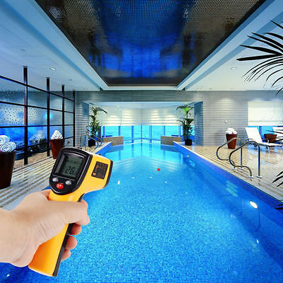 Temperature Temp Meter Gun Non-contact Laser Digital Infrared IR Thermometer