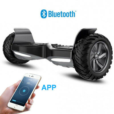 "Scooter Eléctrico 8.5"" Patinte Bluetooth off-road APP self balancing Regalo"