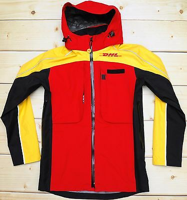 DHL employee uniform - NEW lightweight waterproof pro MEN'S GTX JACKET - size S