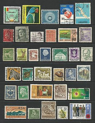 WORLD STAMPS - mixed collection, Lot No.51, all different