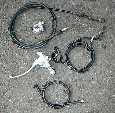 Direct Bike 50 Tommy Db50Qt-E 2014 14 Speedo Drive Rear Brake Mount Cables