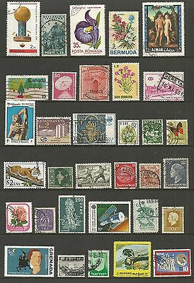 WORLD STAMPS - mixed collection, Lot No.59, all different