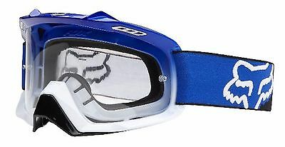 FOX AIRSPC MOTOCROSS GOGGLES Yamaha blue NEW! Motorcross Dirt bike MX Off road