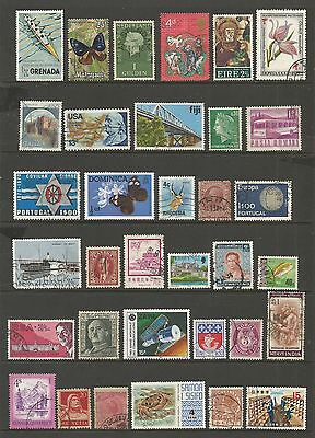 WORLD STAMPS - mixed collection, Lot No.63, all different