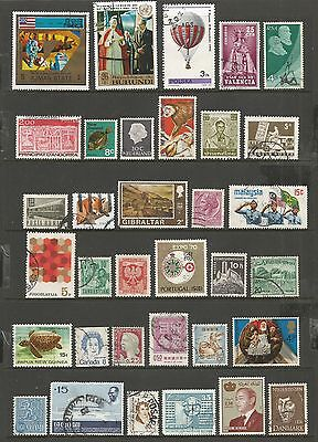 WORLD STAMPS - mixed collection, Lot No.66, all different