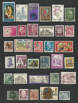 WORLD STAMPS - mixed collection, Lot No.73, all different