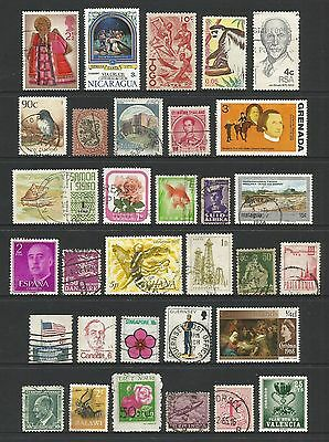 WORLD STAMPS - mixed collection, Lot No.74, all different